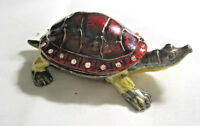 Enamel Turtle Trinket Box