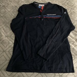 BMW Motorsport Long Sleeve XL Polo Shirt.