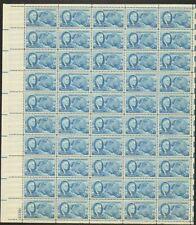 933 Roosevelt & Four Freedoms MNH Sheet CV $16