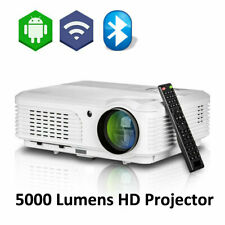 5000Lumen LED Home Cinema Football Game Projector 1080p Support DVD Laptop HDMI