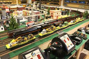 5 Car John Deere Train  MTH, Lionel, Atlas, Weaver  O Scale