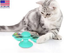 Windmill Cat Toys Fidget Spinner for Cats with LED and Catnip Balls USA Seller