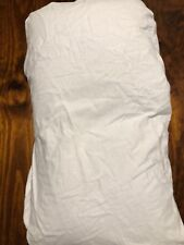 PLAIN WHITE  BRAND NEW HAND MADE FLANNELETTE CHANGE TABLE COVER, MAT NAPPY