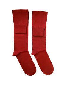 Dolce & Gabbana Mens GC075A Socks Red M