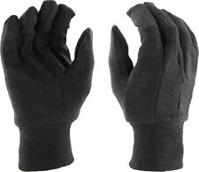 West Chester Protective Gear 750, Large, Black Jersey Gloves, Per Dozen