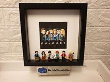 Friends tv show 3D minifigure Frame Rachel, Ross, Monica, Phoebe, Chandler, Joey