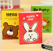 180 Pcs Cute Animal Adhesive Sticky Notes Memo Pad Label UK Kids Party Bags Bear