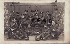 WW1 Soldier Group E M Treherne 24th Reserve Battery Officer Cadet School Exeter