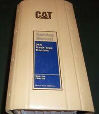 CAT CATERPILLAR D6K CRAWLER TRACTOR DOZER BULLDOZER SHOP REPAIR SERVICE MANUAL