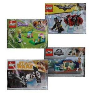 Lego Friends™ Movie Polybags Movie Hero Figurines Animals Accessories Foil Bag