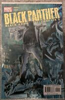 Black Panther (Vol. 2) #54 Marvel Comic Book Black and White Chapter 4