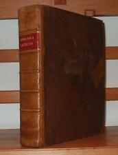 LEXICON Greek Language Dictionary LEATHER BINDING 1755