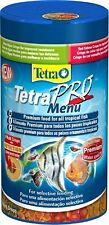 Tetra pro/TetraPro menu 250 ml premium fish food with colour enhancer