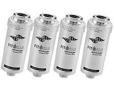 4x FILTRO fitaqua antiscaling FILTRO ACQUA PER DOCCIA CONTRO cloro e calce