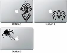 3D Spider Tribal Decal Sticker Apple Mac Book Air/Pro Dell Laptop Motorcycle Car
