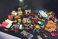 Playmobil Vintage Victorian Mansion Large Lot of Accessories and Sets!