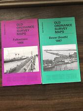 Old Ordnance Survey Map Folkestone 1906/ Dover South 1897
