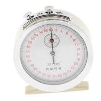 Metal Physics Experiment Timer Mechanical Stopwatch Stop Clock Sports