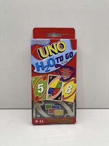 Mattel®️ | UNO H2O | 2-10 Spieler | Ab 7 Jahren | Wasserfest |  Clip | NEU&OVP