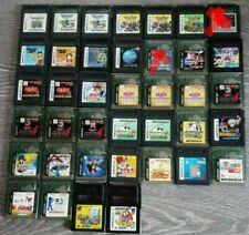 Lot 37 jeux game boy  color GBC jap dragon quest tetris zelda one piece yu gi oh