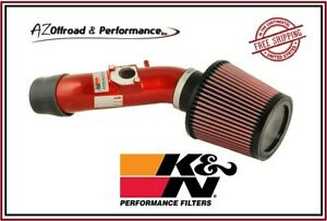 K&N 69 Series Red Typhoon Air Intake System for 01-07 Toyota Corolla 1.4L & 1.6L