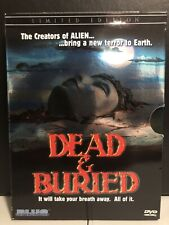 Dead and Buried (DVD, 2005, 2 Disc, Limited Edition Set, With bonus Disc)-Horror
