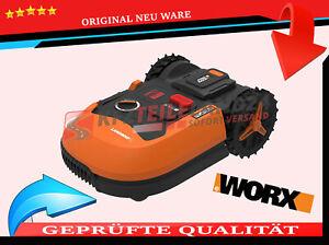 Robot Rasenmäher Landroid Worx  WR147E.1 Ultraschall ORIG Für Gärten Bis 1000 Qm