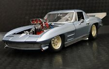 1963 Vette Corvette Chevy Built Race Car Drag 24 Hot Rod 12 Vintage 1 Model 18