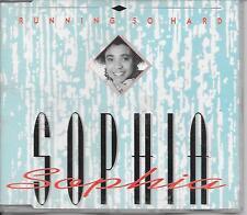SOPHIA - Running so hard CDM 4TR Euro House 1992 (ALABIANCA) Holland
