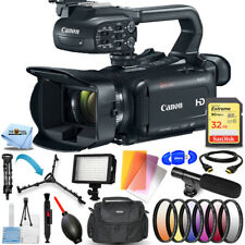 Canon Xa11 Compact Full Hd Camcorder with Hdmi and Composite Output Pal Bundle
