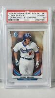 2014 Bowman Chrome Draft Picks Corey Seager #CTP41 PSA 10 Top Prospects MVP