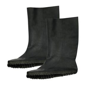 Totes Motorcycle Rubber Waterproof Over Boots Overboots Black Size XS-XXL