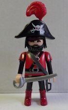 PLAYMOBIL figurine PIRATES corsaire plume camp canon épeé sabre ile bateau