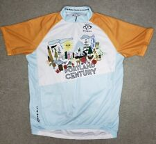 Primal Wear Portland Century Wesley Younie Adult Cycling Jersey Size L OR