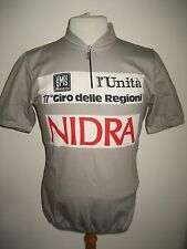 Giro delle Regioni WORN by RIDER Italy SIGNED jersey shirt cycling maglia size L