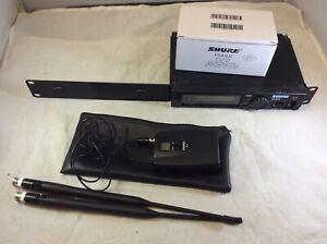 Shure ULXP4-J1 554-590 Mhz Wireless Microphone Receiver ULX1-J1 Bodypack Mic