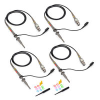 4pcs100MHz Oscilloscope Scope Analyzer Clip Probe Test Lead kit for HP Tektronix