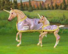 Breyer * Glitter & Gem *711999 Unicorn Web Special Mare Foal Classic Model Horse