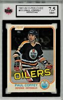 1981-82 O-Pee-Chee #111 Paul Coffey RC - NM+ - GRADED 7.5 (052619-54)