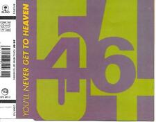 54-46 - You'll never get to heaven CDM 4TR Swingbeat Reggae 1990 Island Records