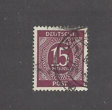 GERMANY -  540 - USED -  1946  ISSUES -