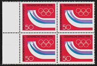 875 postfrisch 4 er Block Rand links BRD Bund Deutschland Jahrgang 1976