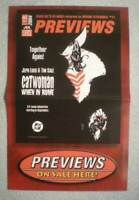 CATWOMAN / WITCHBLADE  Promo Poster, 11x17, 2004, Unused, more in our store