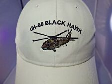 Sikorsky UH-60 Black Hawk Cap Hat Adjustable Strapback Military