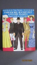 Theodore Roosevelt and His Family Paper Dolls Book, Tom Tierney, New, Uncut