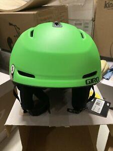! Giro NEO MIPS Adult Small Snow Snowboarding Ski Helmet Matte Bright Green