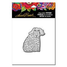 LAUREL BURCH RUBBER STAMPS CLING DOG TAIL NEW cling STAMP