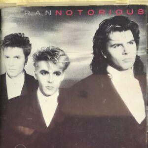 Duran Duran Notorious CD (new & sealed)