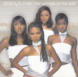 DESTINY'S CHILD - THE WRITING'S ON THE WALL CD 2 DISCS