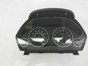 2014-2018 Bmw 320I 2.0L Speedometer Instrument Cluster Without Heads-Up Display